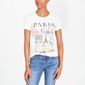 J Crew Paris Collector T-Shirt